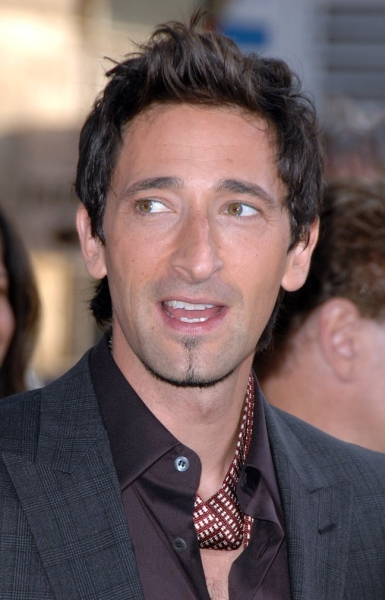 Adrien Brody at Brody-Led 'Splice' Premieres in Los Angeles