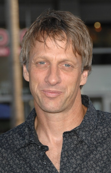 Tony Hawk at Brody-Led 'Splice' Premieres in Los Angeles