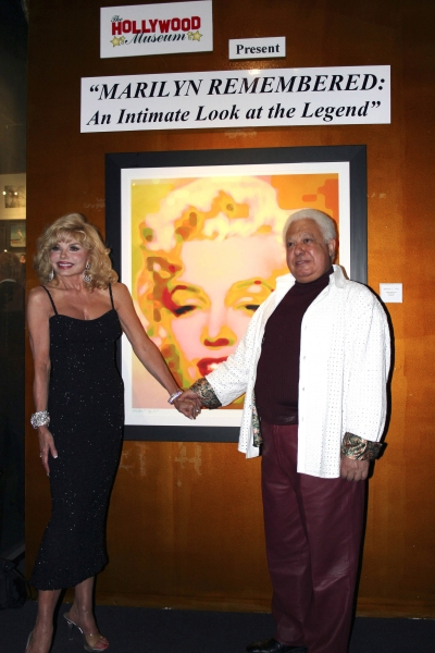Ludvic with Loni Anderson