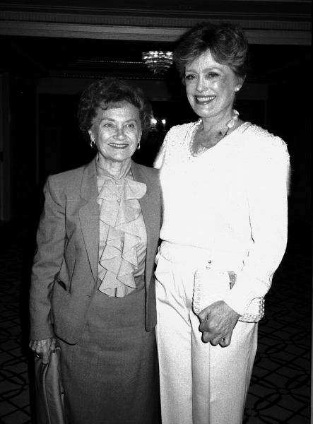 Rue McClanahan and Estelle Getty, September 1, 1984