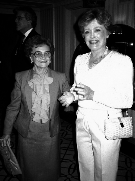 Estelle Getty and Rue McClanahan, September 1, 1984