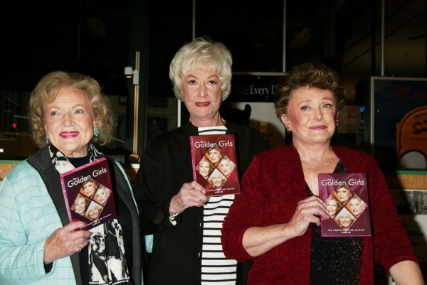 Betty White, Bea Arthur and Rue McClanahan, November 22, 2005 at Photos: Remembering Rue McClanahan