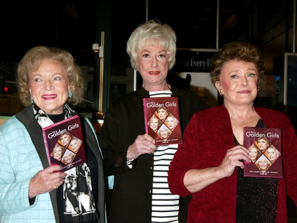 Betty White, Bea Arthur and Rue McClanahan, November 22, 2005