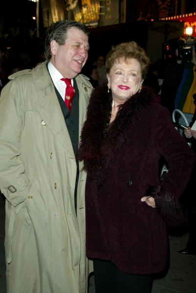 Rue McClanahan and Husband Morrow Wilson, January 9, 2003