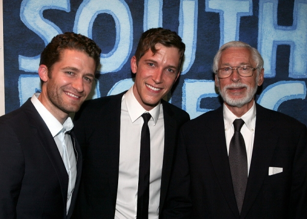 Matthew Morrison, Anderson Davis and John Kerr at Opening Night of SOUTH PACIFIC At The CTG/Ahmanson Theatre