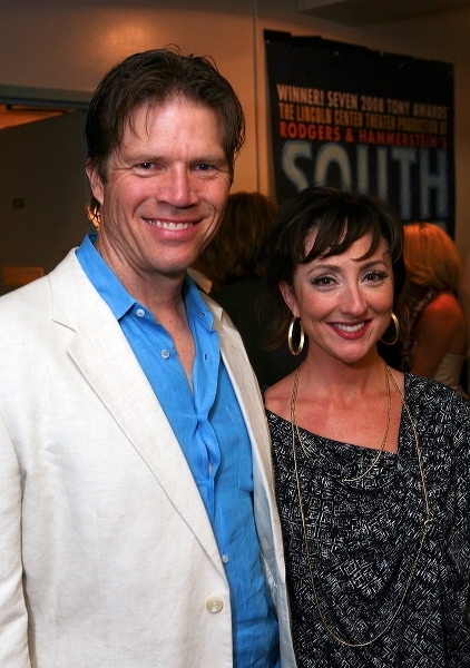 Rod Gilfry (L) and Carmen Cusack Photo