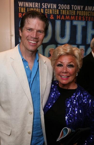Rod Gilfry (L) and actress Mitzi Gaynor  Photo