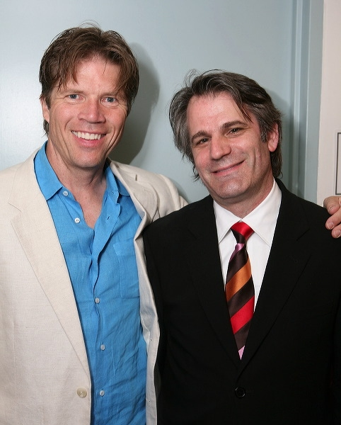 Rod Gilfry (L) and Director Bart Sher  Photo