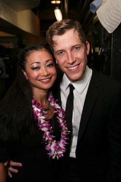 Sumie Maeda (L) and Anderson Davis Photo