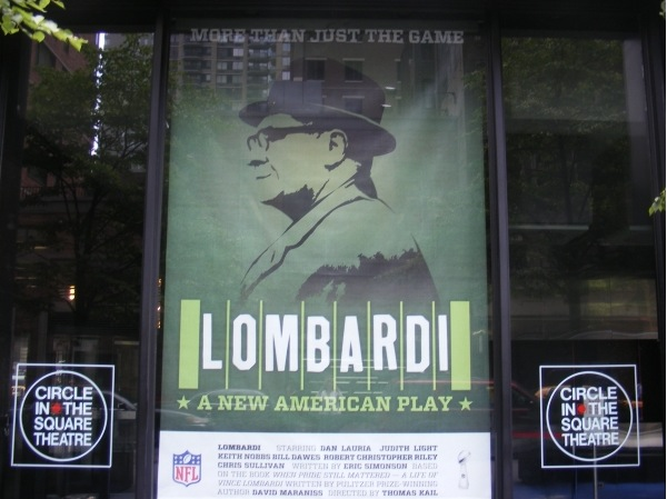 Photo Coverage: LOMBARDI Debuts Window Display at Circle in the Square Theatre on Broadway