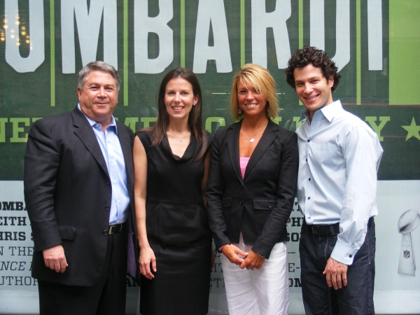Tony Ponturo, Fran Kirmser, Tracy Perlman and Thomas Kail