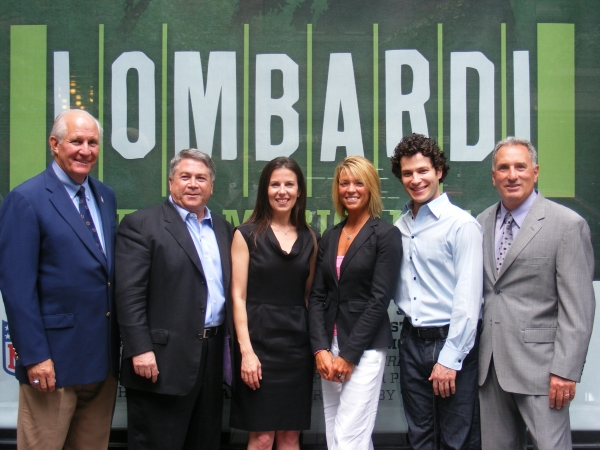 Frank McLaughlin, Tony Ponturo, Fran Kirmser, Tracy Perlman, Thomas Kail and Tom Masella