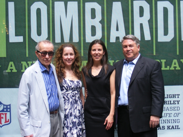 Theodore Mann, Nicole Kastrinos, Fran Kirmser and Tony Ponturo