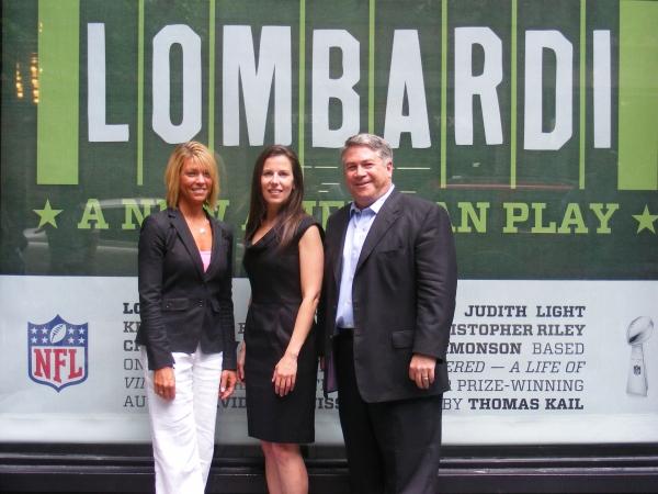 Tracy Perlman, Fran Kirmser and Tony Ponturo