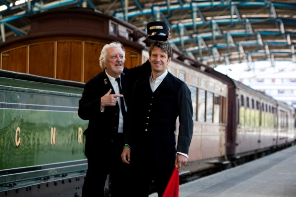 Bernard Cribbins and Marshall Lancaster