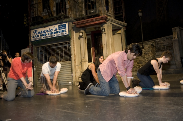 Photo Coverage: HEIGHTS and WEST SIDE Actors Learn CPR