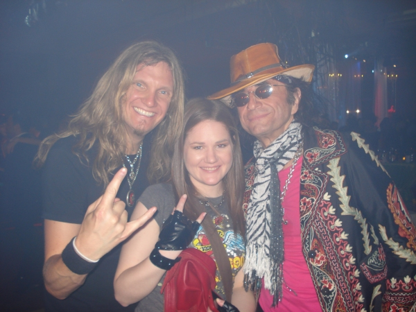 Night Ranger's Joel Hoekstra, Kelly Cameron and Survivor's Jim Peterik