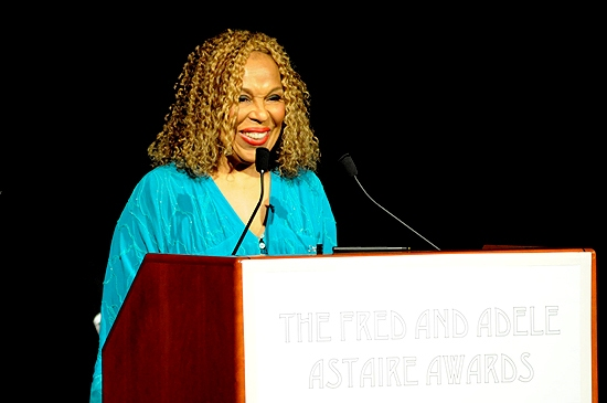 Roberta Flack at 2010 Astaire Awards Honors Jones, Ortega et al.
