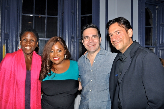 Hazel Goodman, Sherri Shepherd, Mario Cantone and Eugene Pack