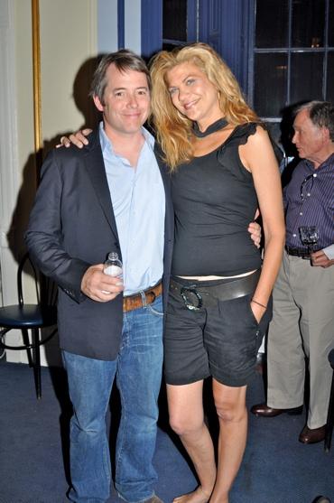 Matthew Broderick and Kristen Johnson