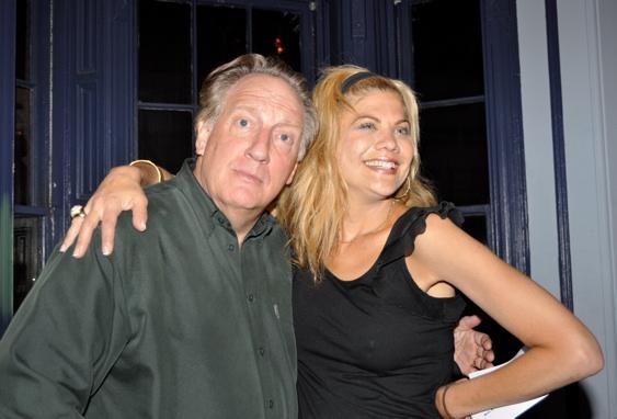 Alan Zweibel and Kristen Johnson