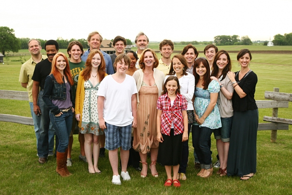 Photo Flash: Gilbert and Cast of Little House on the Prairie Return Home to DeSmet, SC