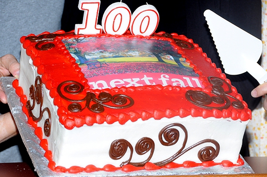 Photo Coverage: NEXT FALL Celebrations 100 Performances on Broadway
