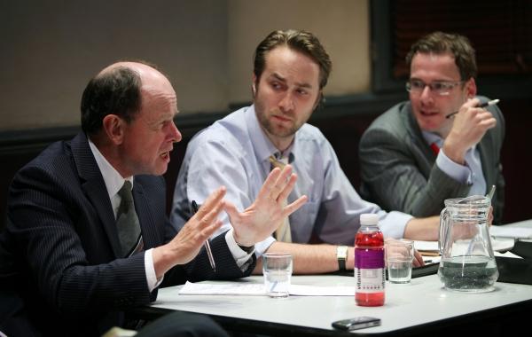 Simon Chandler, Oliver Chris & Felix Scott
