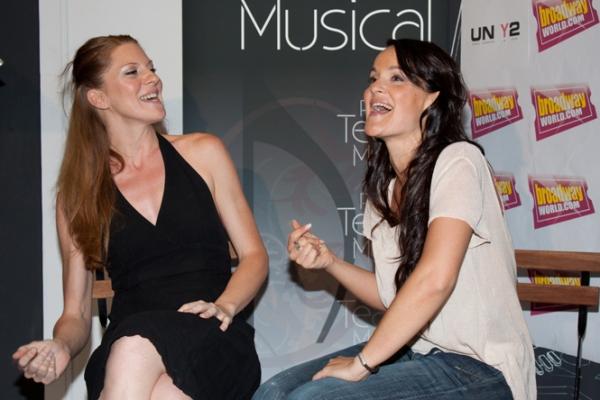 Miriam Madrid y Fanny Alcazar