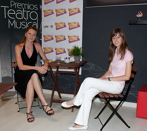 Miriam Madrid y Alba Alonso