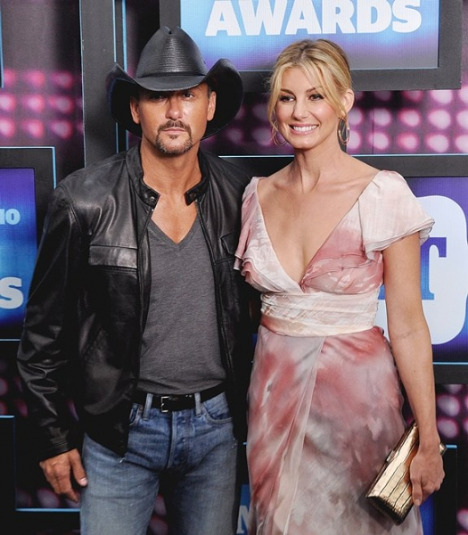 Tim McGraw and Faith Hill at CMT Awards Red Carpet Arrivals!