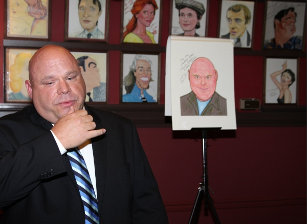 Photo Coverage: Kevin Chamberlin Caricature Unveiled at Sardi's