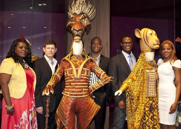 Brown Lindiwe Mkhize, George Asprey, and Shaun Escoffery
