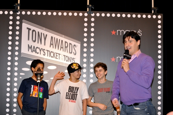 Liam Redhead, Dayton Tavares, Michael Dameski and Naughty But Nice Rob-Rob Shuter Photo