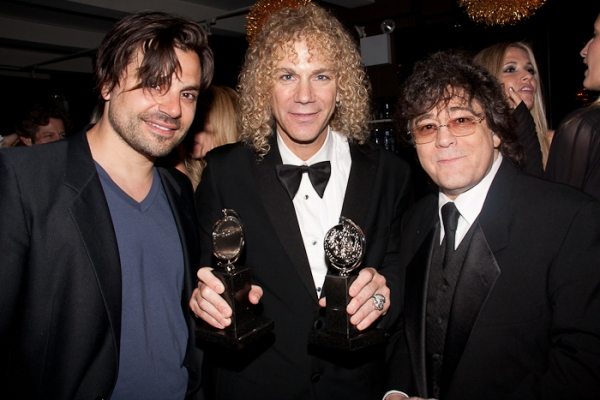 Tony winner David Bryan with MEMPHIS Party Guests