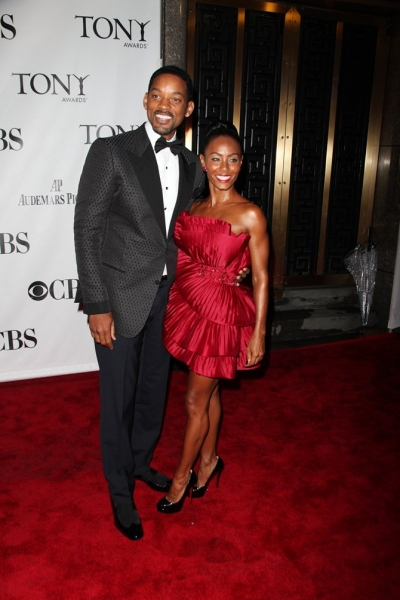 Will Smith and Jada Pinkett Smith at 2010 Tonys - Red Carpet!
