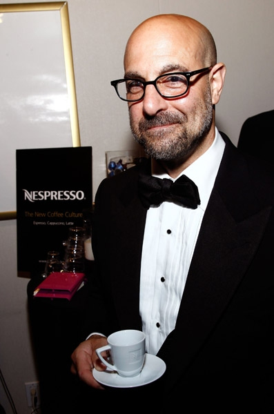 Stanley Tucci at TONY Awards Stars Shop Gift Lounge for Fun & Charity