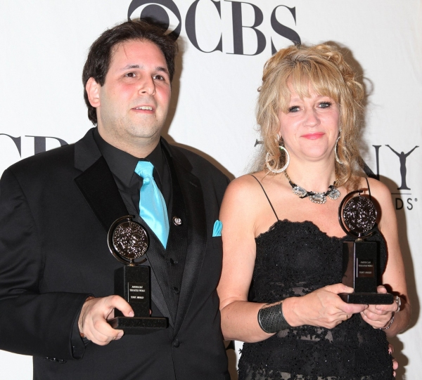 David Babani & Sonia Friedman at Tony Winning Stars of 2010!