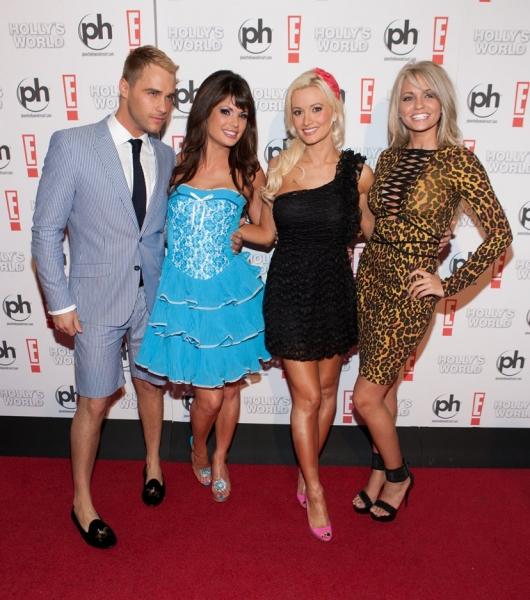 Josh Strickland, Laura Croft, Holly Madison and Angel Porrino