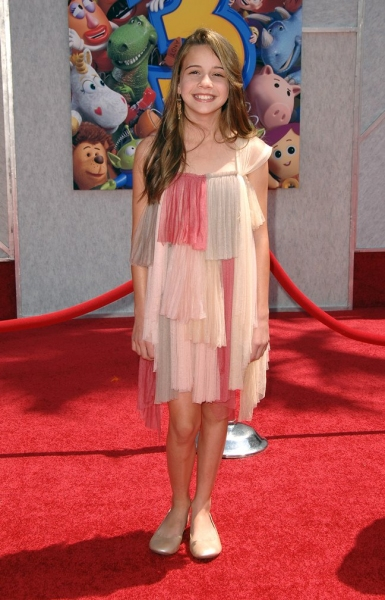 Beatrice Miller at 'Toy Story 3' Premieres in LA