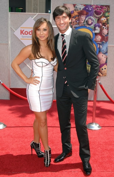 Cheryl Burke and Evan Lysacek