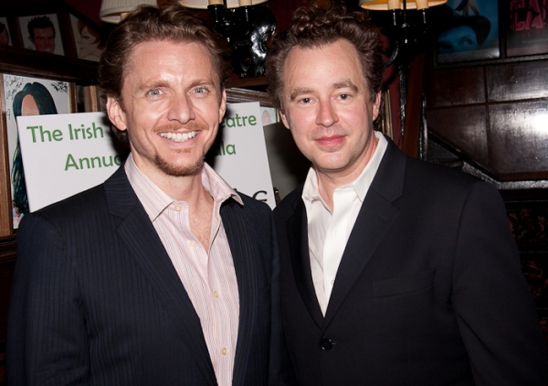 Jason Danieley and Don Stephenson at Irish Rep's BRIGADOON Benefit Concert at the Shubert Theatre