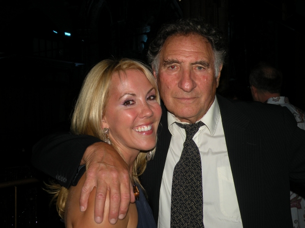 NYTW Board President Heather Randall and Judd Hirsch