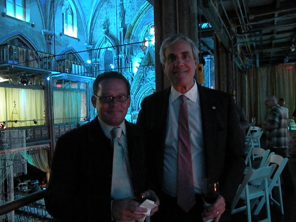 James Embden (husband of NYTW Board Member, Barbara Cutler) and NYTW Managing Director, William Russo