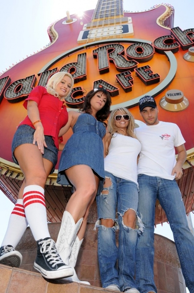 Holly Madison, Laura Croft, Angel Porrino and Josh Strickland