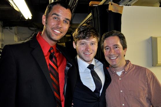 Douglas Ladnier, Bobby Steggert, and Michael Lavine