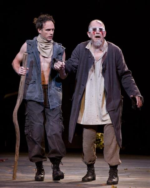 Jay Whittaker as Edgar and Charles Janasz Photo