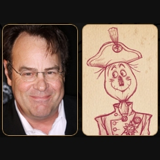 Dan Aykroyd as The Scarecrow