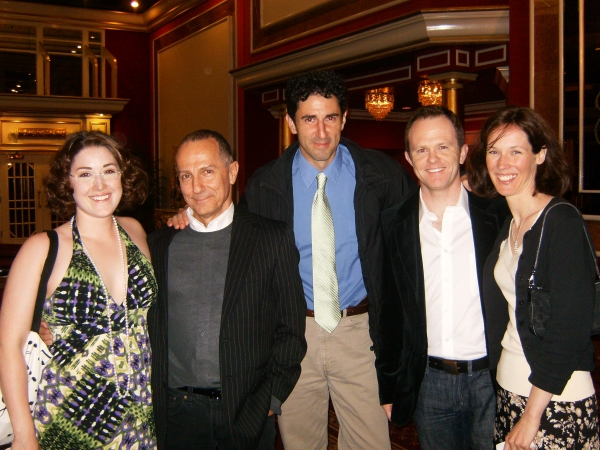 Rachel Levin, Jim Corti, Sean Fortunato, Jason Bayle and Linda Fortunato