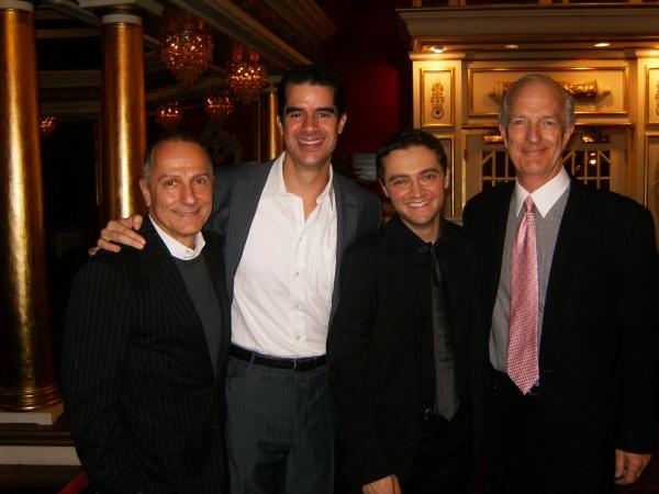 Jim Corti, Rod Thomas, Alan Schmuckler and Joe D. Lauck